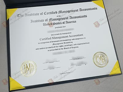 CMA Certificate, Certified Management Accountant Certificate