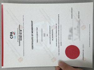 fake Certified Public Accountants certificate, HKICPA certificate, 香港會計師證書