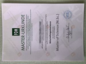 FOM Hochschule diploma