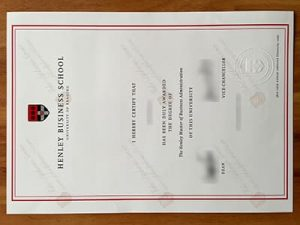 fake Henley Business School degree, fake Henley Business School diploma