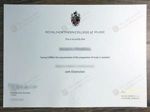 fake Royal Northern College of Music diploma, fake RNCM diploma
