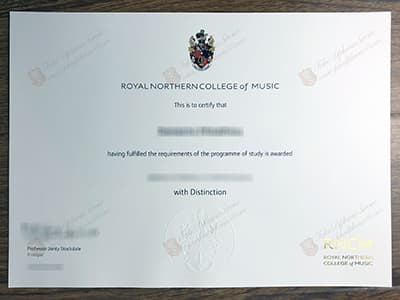 Buy Royal Northern College of Music Diploma, Fake RNCM Degree