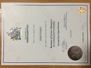 The University of Northampton diploma