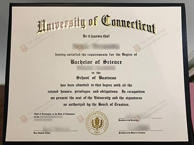University of Connecticut Diploma, UConn Degree Diploma