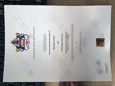 UAL Diploma, Get University of the Arts London Degree Certificate