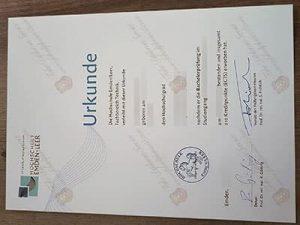 fake Hochschule Emden Leer Diploma
