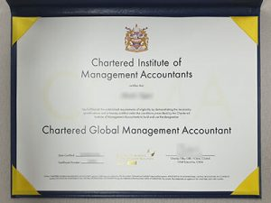 fake cima certificate, Chartered Institute of Management Accountants certificate