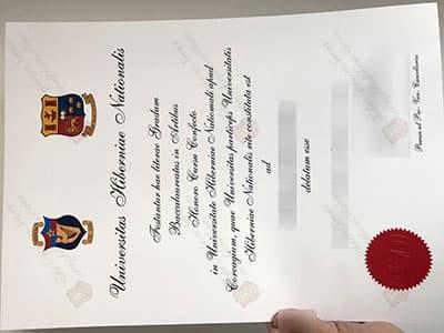 National University of Ireland Diploma, Fake NUI Degree Certificate