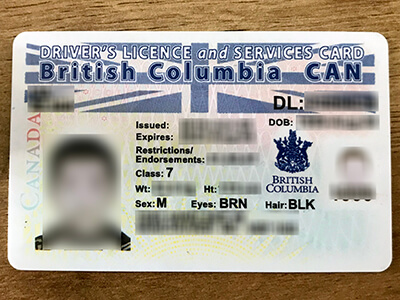 Several ways to obtain British Columbia driving license