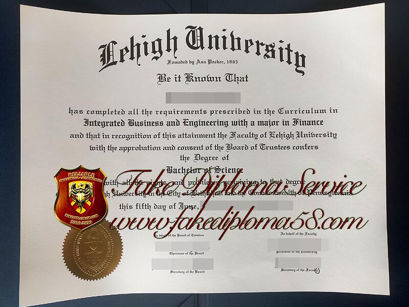 Lehigh University fake diploma, Lehigh University fake degree