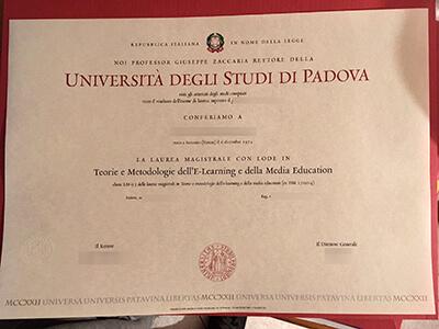 Where to Buy Università degli Studi di Padova Fake Diplomas