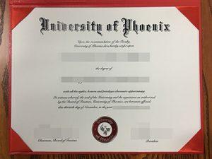 fake University of Phoenix degree, fake University of Phoenix diploma