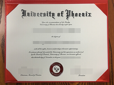 Where to get a Fake University of Phoenix diploma?