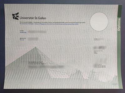 Universität St Gallen diplom, Buy University of St. Gallen Diploma Online