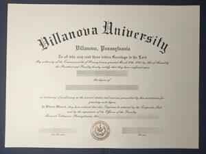 Villanova University fake diploma, Villanova University fake degree