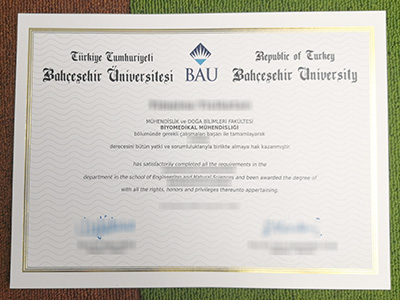 How to Purchase A Fake Degree of Bahcesehir University(BAU) From Turkey?
