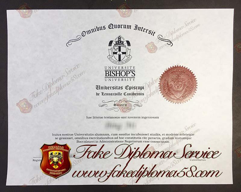 Bishop's College School diploma