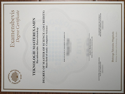 Blekinge tekniska hogskola diploma