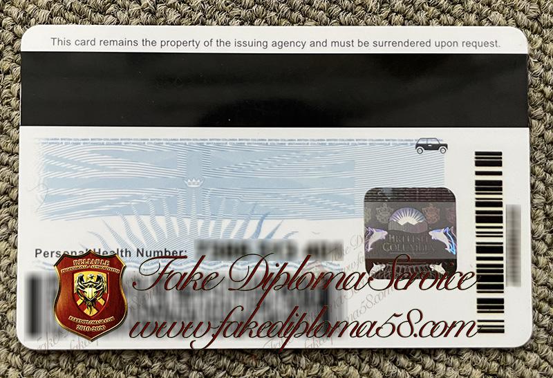 British Columbia driver's license