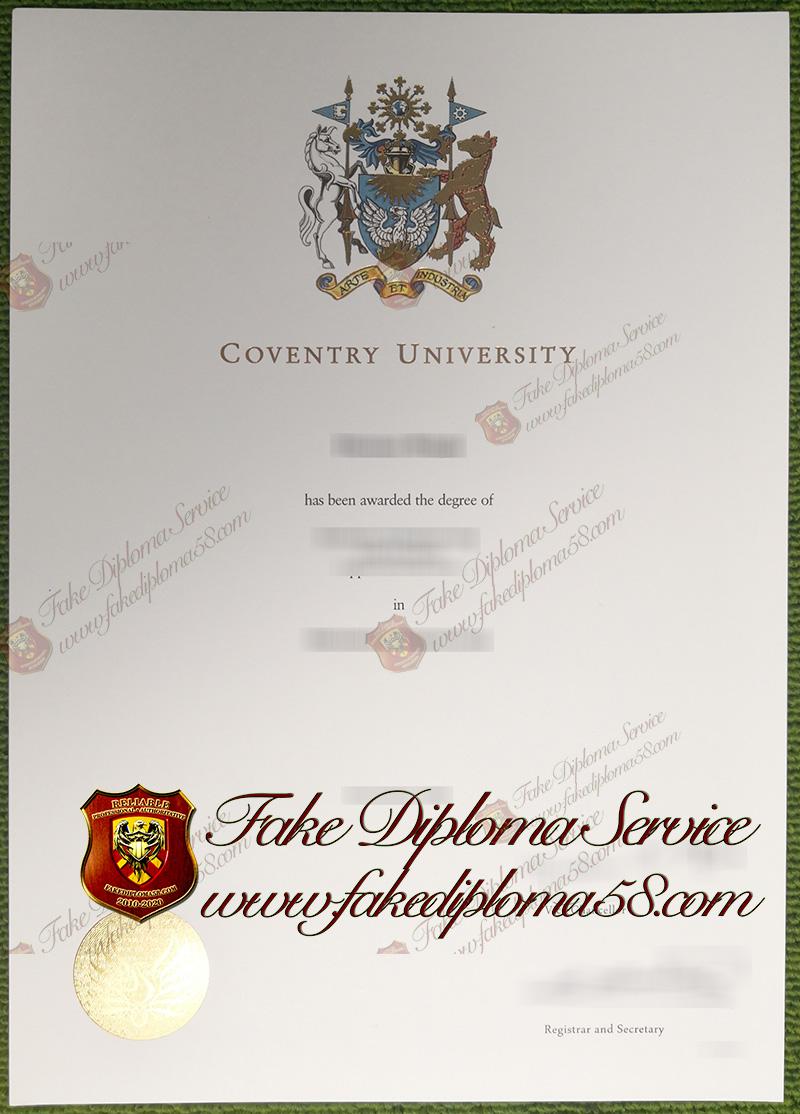 Coventry University degree
