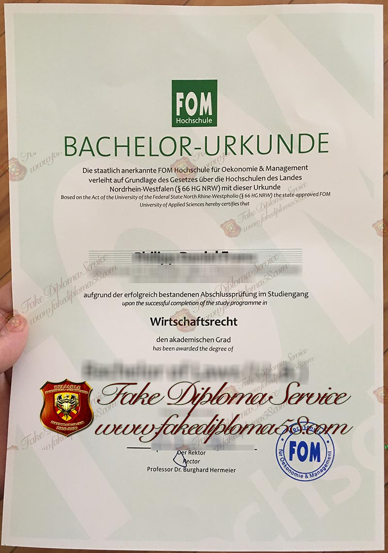 FOM diploma