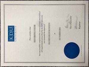 KDU University College degree