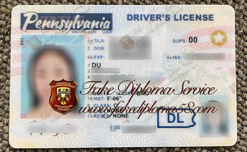 Pennsylvania driver's license