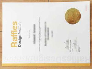 Raffles Design Institute degree
