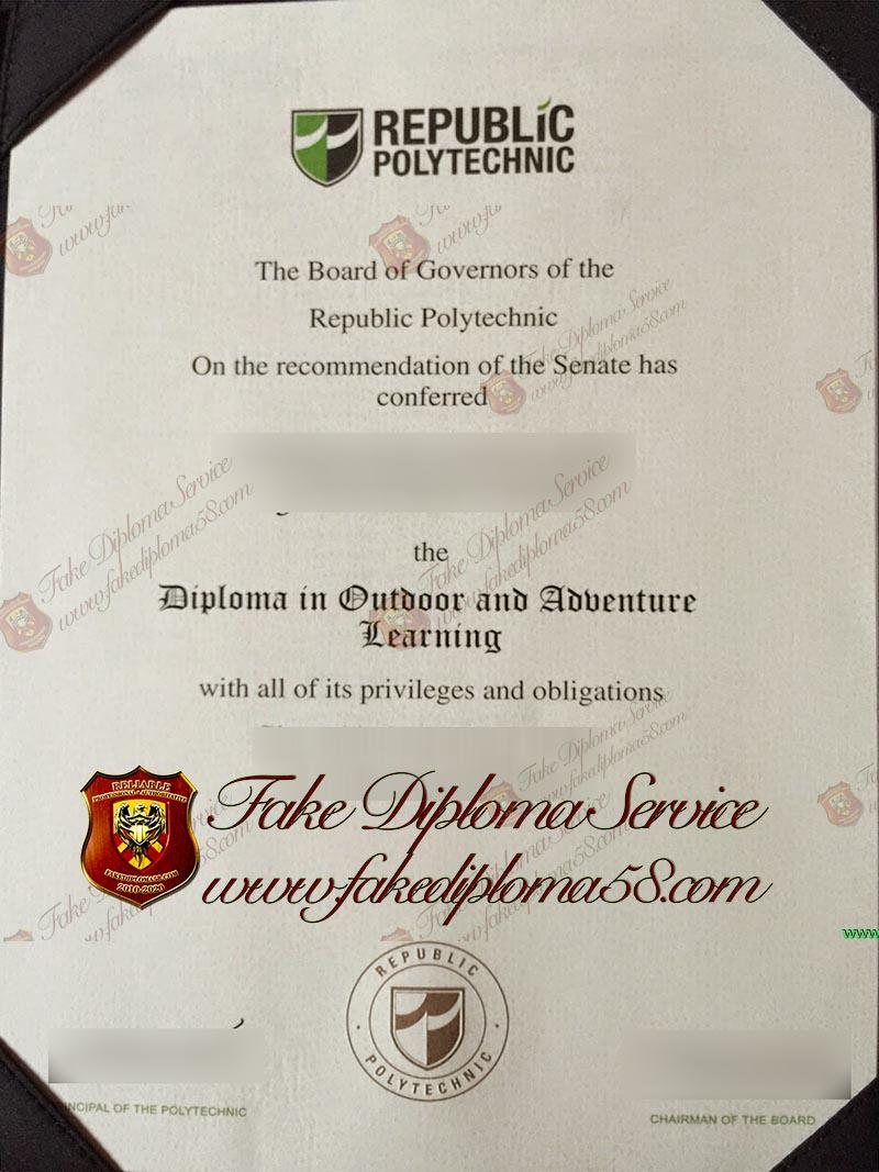 Repulic Polytechnic diploma