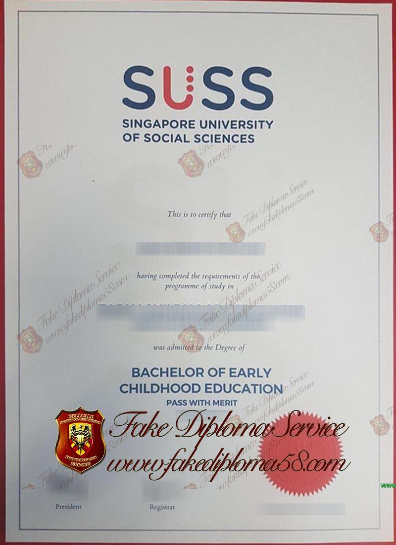 Social Sciences diploma