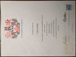 University of Kent degree