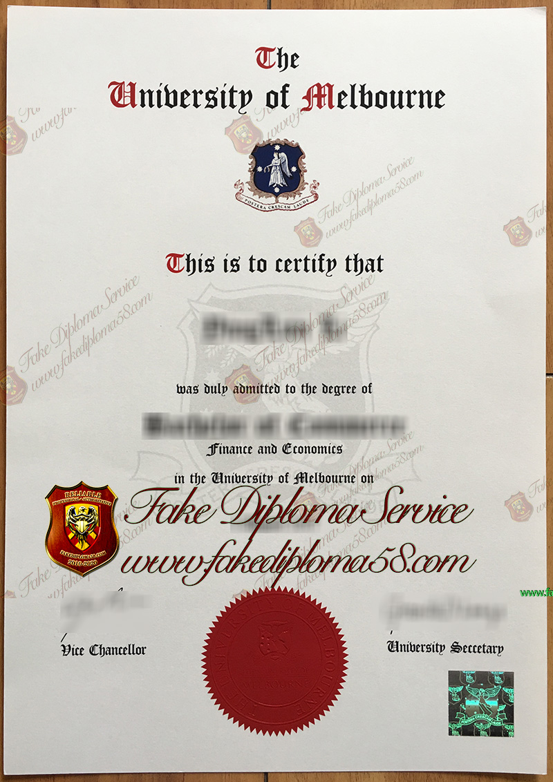University of Melbourne diploma