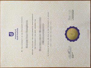 University of South Australia degree