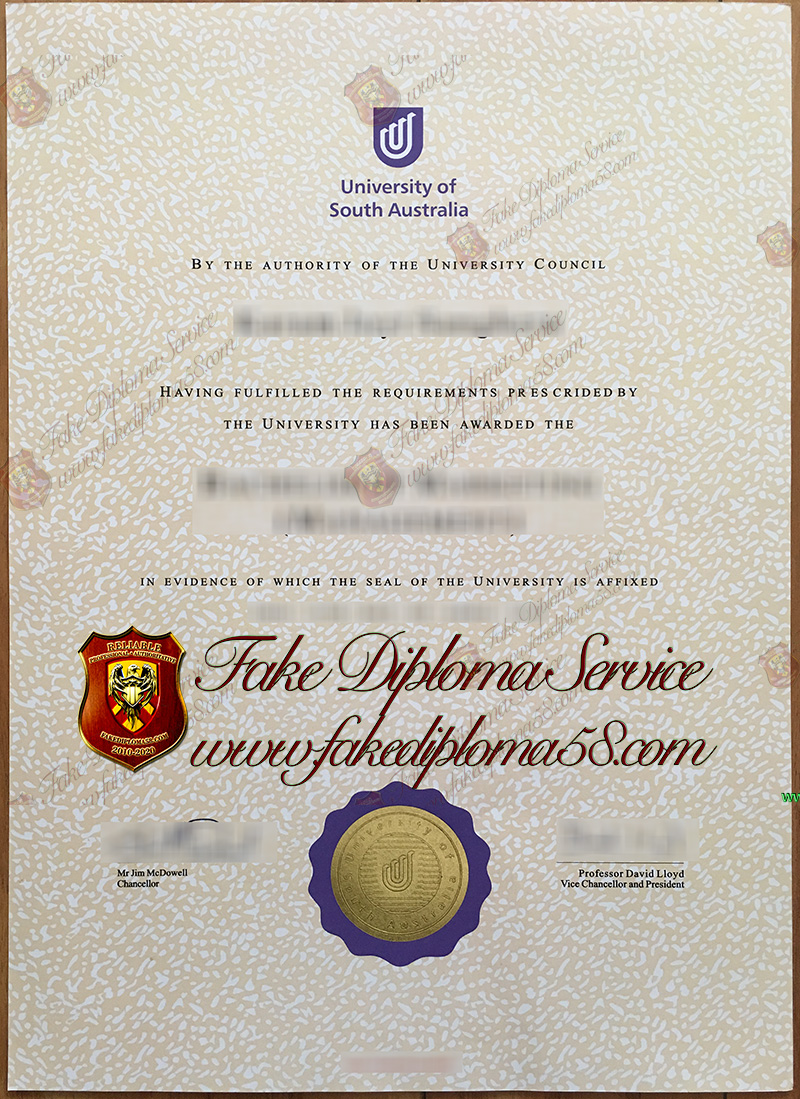 University of South Australia diploma