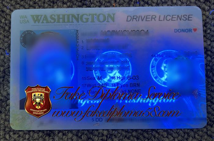 Washington driver's license