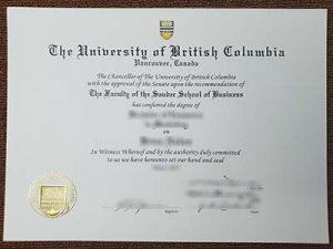 the university of british columbia degree