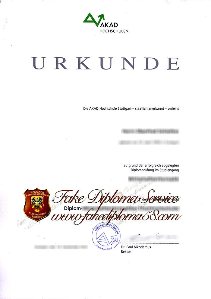 AKAD diploma