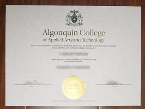 Algonquin College of Applied Arts and Technology degree