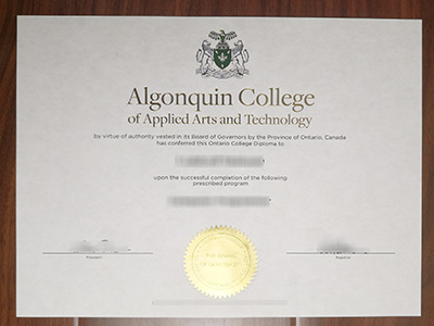 Can i Purchase a fake Algonquin College of Applied Arts and Technology degree online