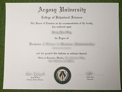 Purchase a fake Argosy University degree quickly and safely