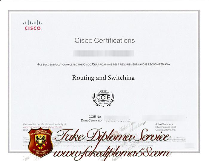 CCIE certificate