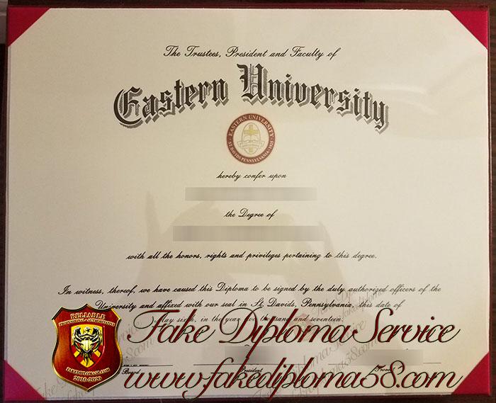 Eastern University diploma