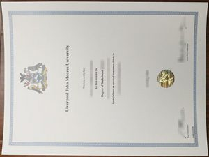 Liverpool John Moores University degree