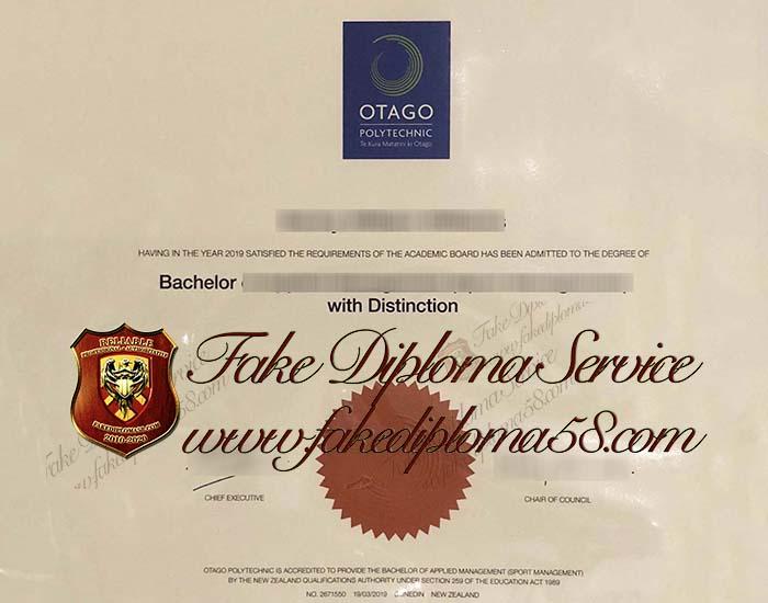 Otago Polytechnic diploma