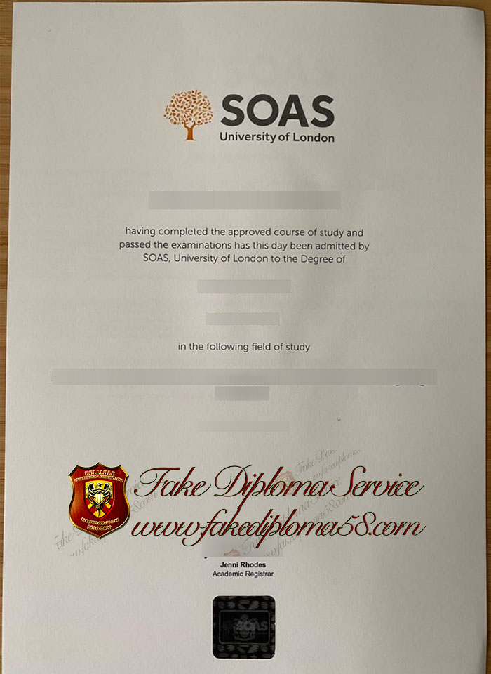 SOAS University of London diploma