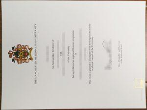 The Manchester Metropolitan University degree