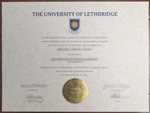 The University of Lethbridge degree