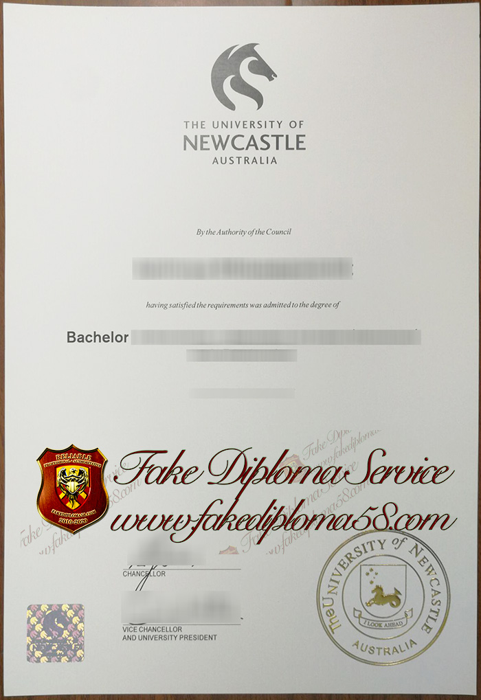 The University of Newcastle diploma