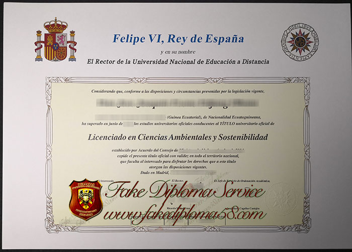 UNED degree