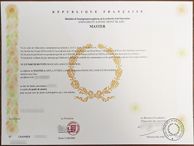 Purchase a phony Universite Savoie Mont Blanc degree quickly